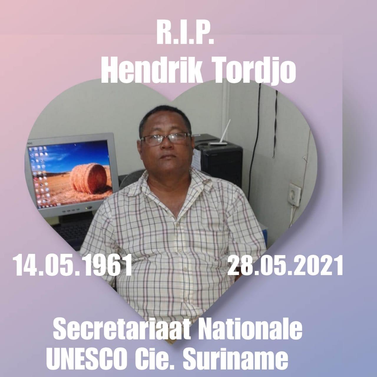 Hendrik Tordjo Suriname