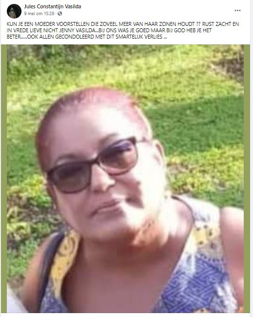 Jenny Vasilda Paramaribo