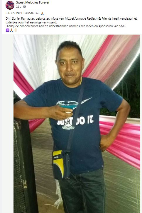 Suniel Ramautar Suriname