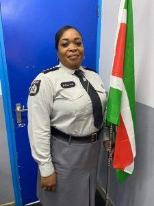 Nathalie Creton politie Suriname