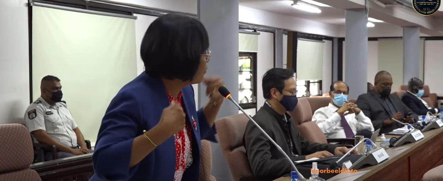 DNA vergadering Suriname