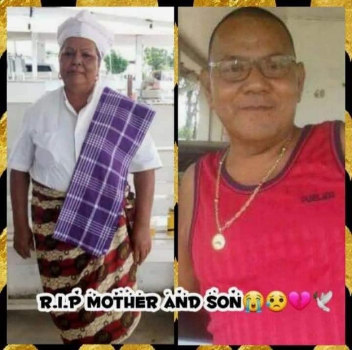 Jubitana moeder en zoon