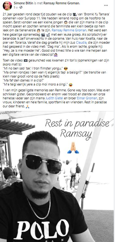 Ramsay Groman Suriname