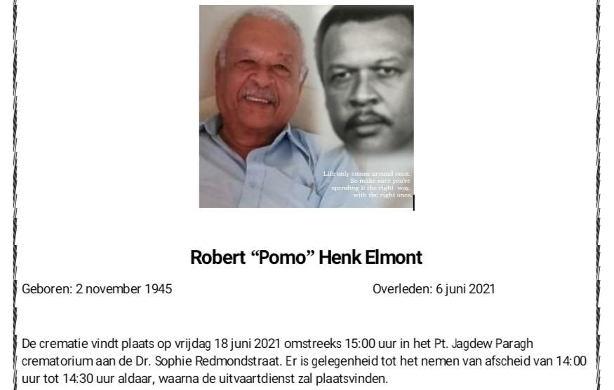 Robert Elmont Suriname