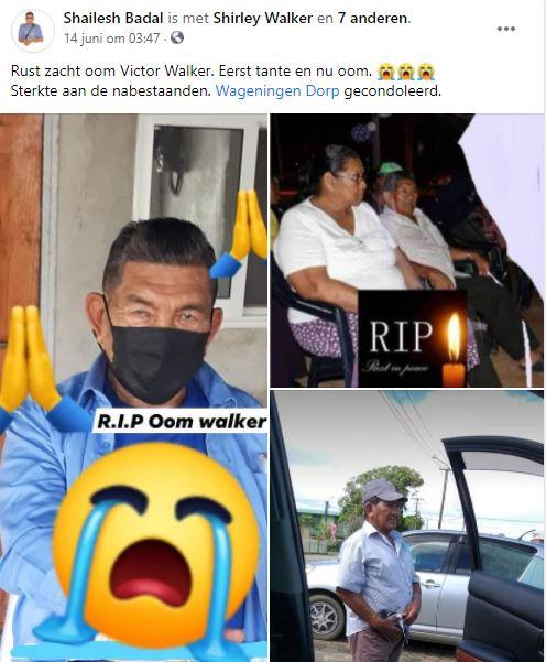 Walker Wageningen Suriname