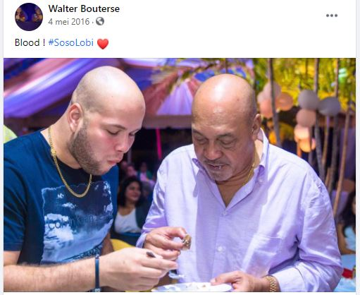 Walther Bouterse Suriname