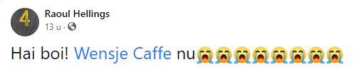 Wensje Caffe Suriname
