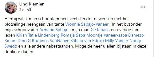 Wonny sabajo Vaneer Suriname