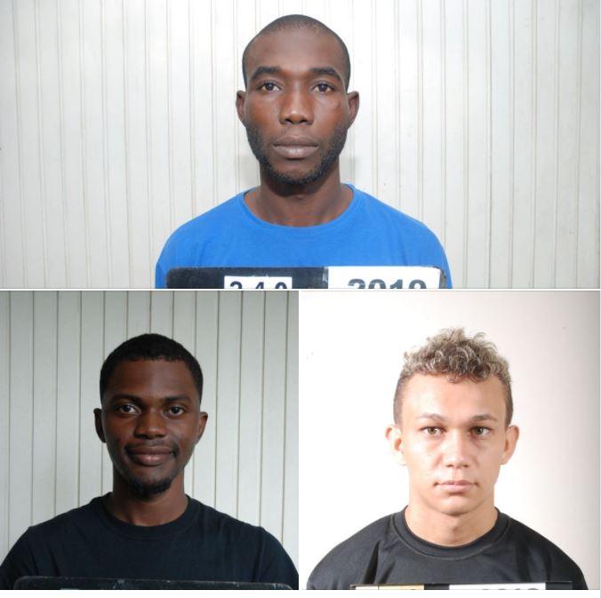 Foto's Corona besmette ontsnapte gevangenen – Politie Suriname