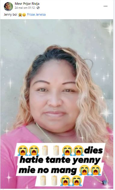 jenny Toenae Suriname