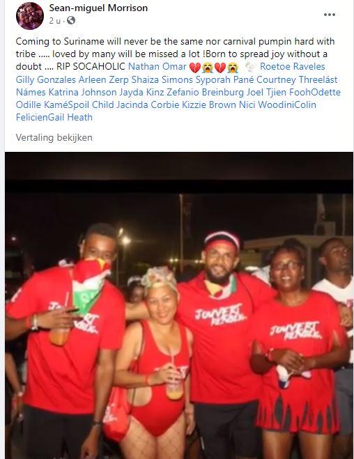 nathan Omar Peiter Suriname