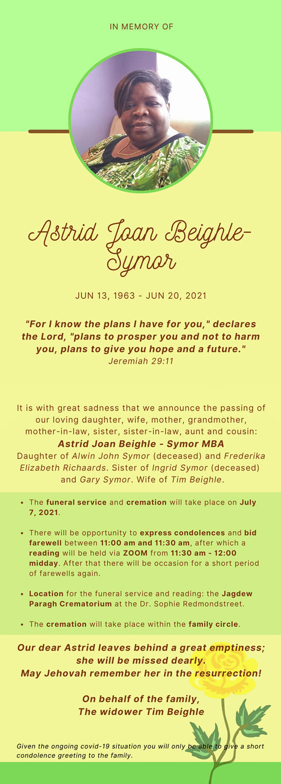 Astrid Symor Suriname