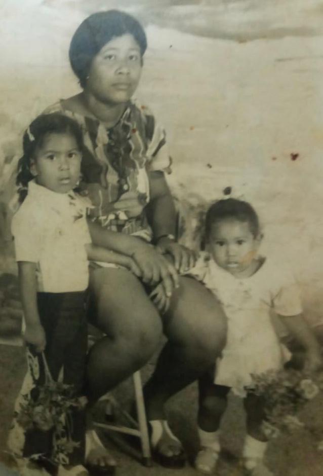Irene Duiker moeder Alcantra Suriname
