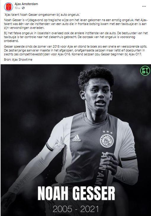 Isay Noah Gesser broertjes Nederland voetbal