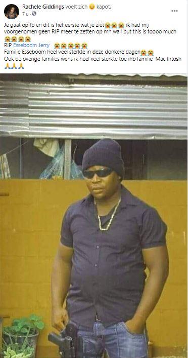 Jerry Esseboom Tolud Suriname 1