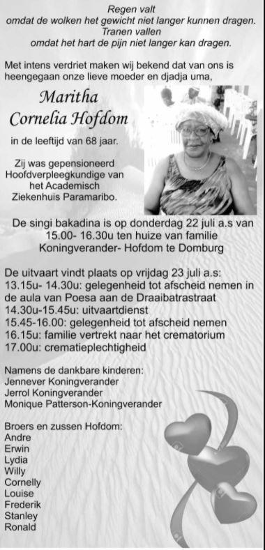 Maritha Hofdom AZP