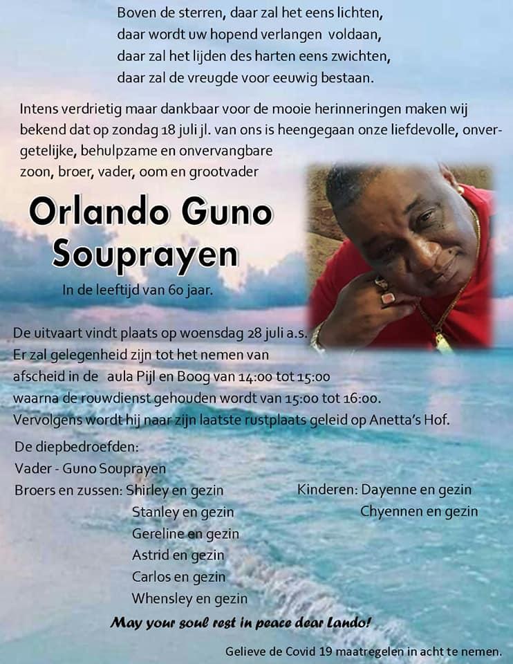 Orlando Souprayen Paramaribo