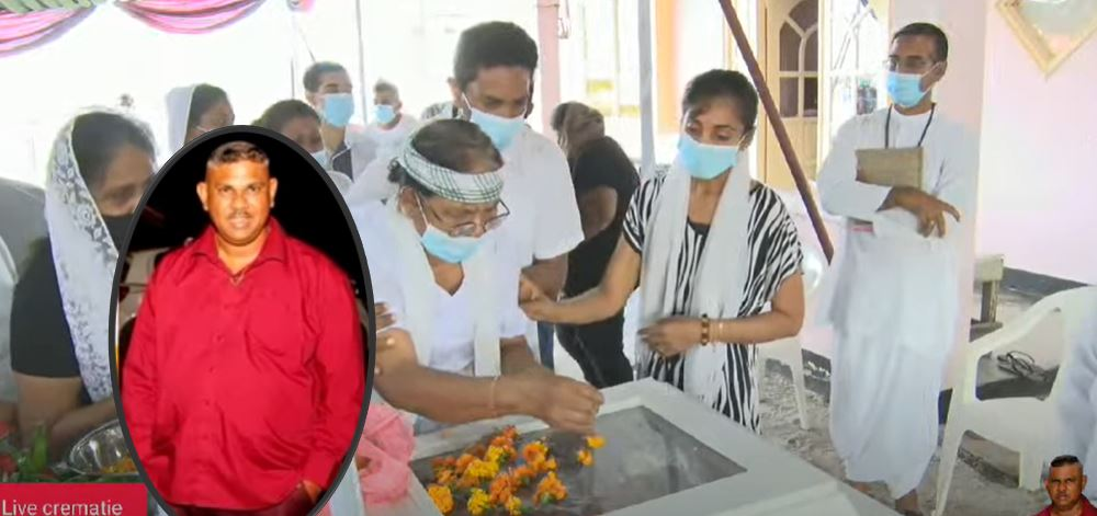 Vandaag nemen we afscheid van Rakesh Jaggi in Suriname – foto's