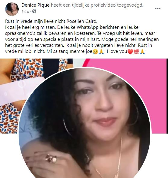 Roselien Cairo Witsantie Suriname