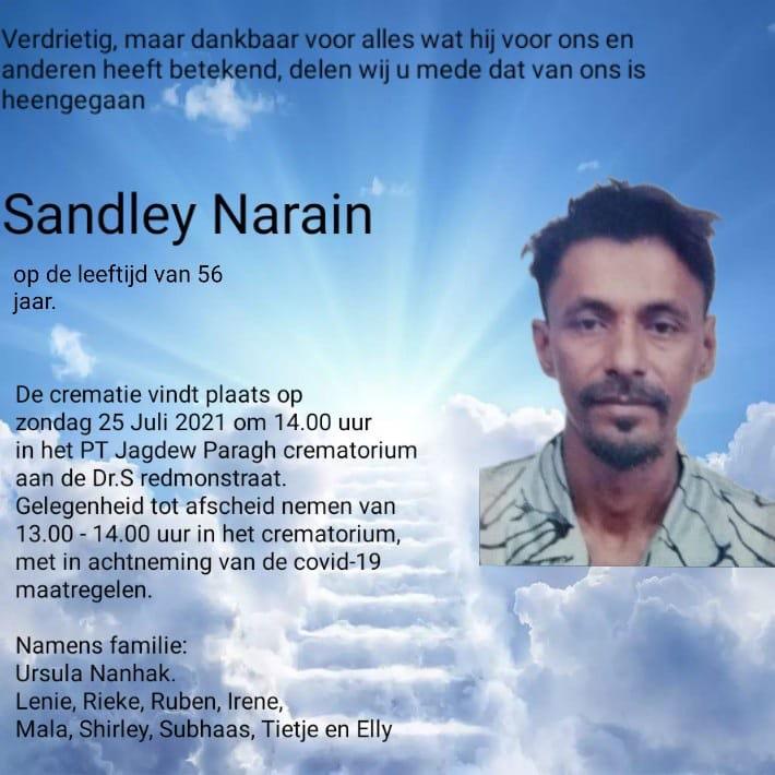 Sandley Narain Suriname
