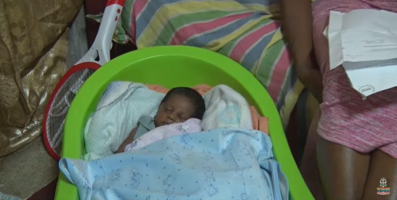 zwanger moeder Suriname
