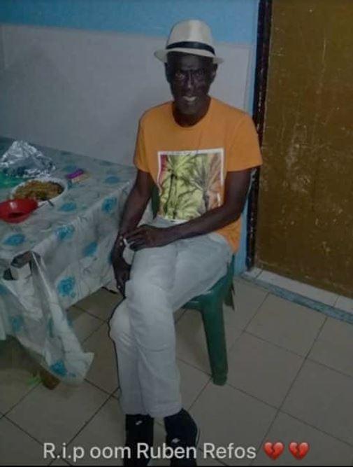 broertje Ruben Refos Paramaribo 1