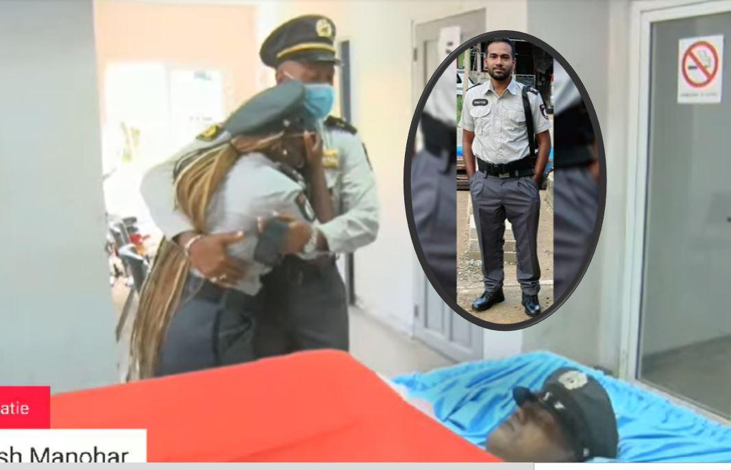 collega Manohar politie