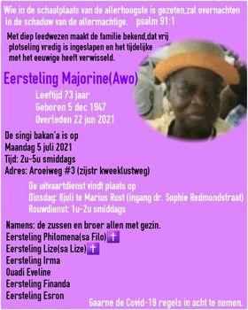 oma Eersteling Suriname