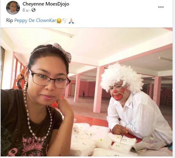 gert Karnawi peppy de clownkar Suriname
