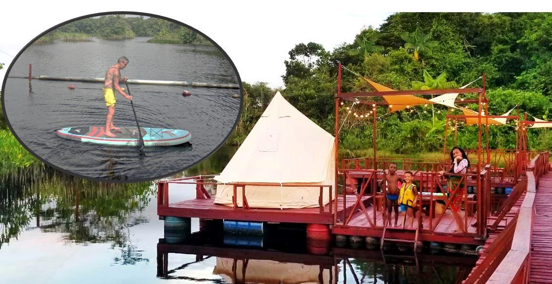 jenny tours water Glamping vakantie Suriname Paramaribo reizen KLM SLM 1