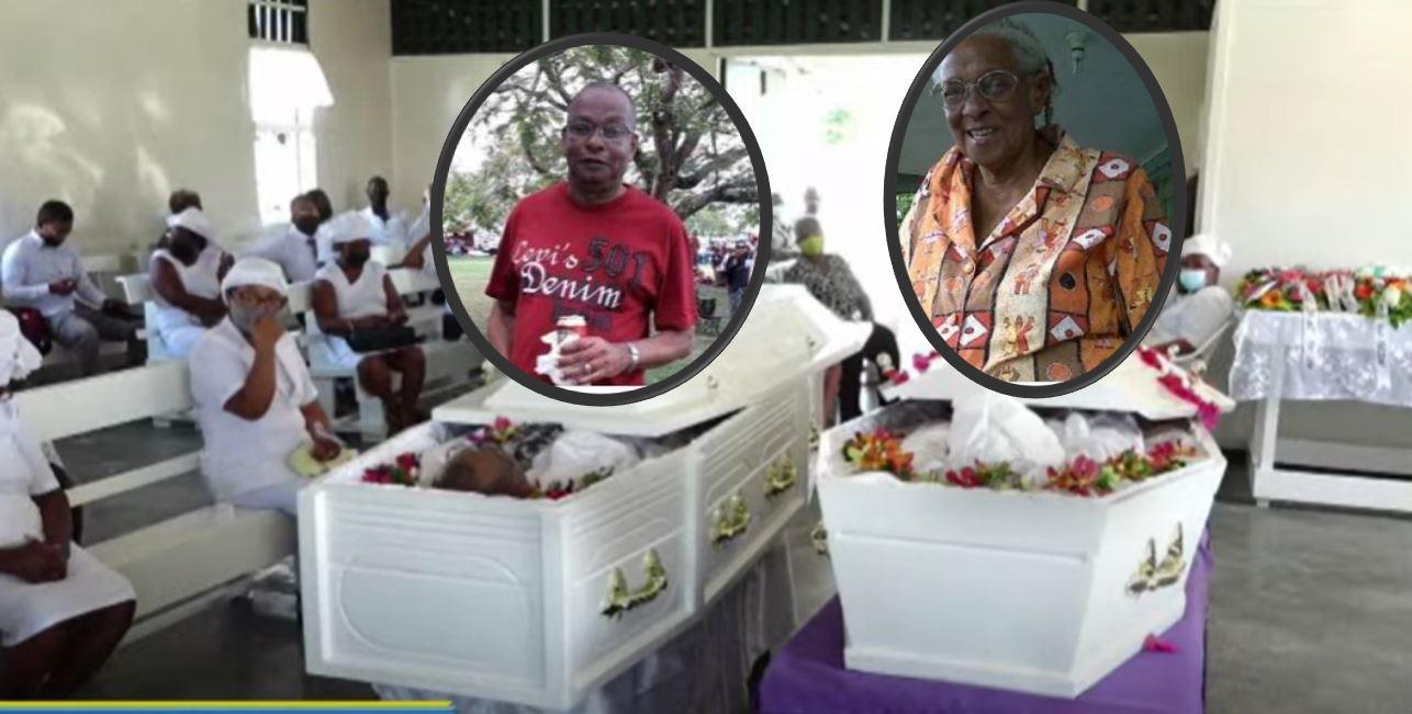 moeder en zoon Mac Intosh Suriname Paramaribo