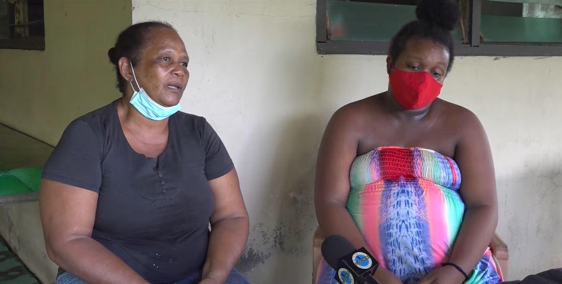 moeder zwanger Suriname