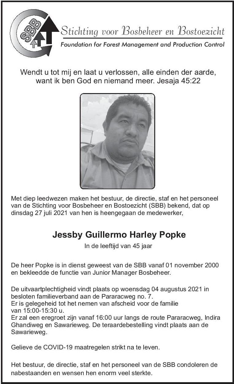 Basja Bernharddorp Jessby Popke Suriname