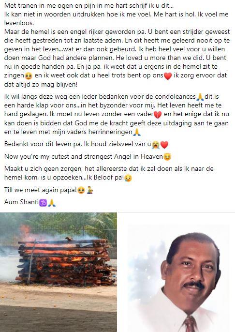 Jyotie vader Suriname Paramaribo 13