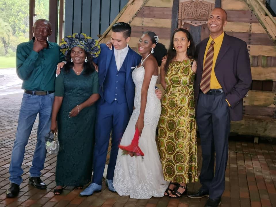 Vreden Mando getrouwd Suriname Paramaribo Nederland