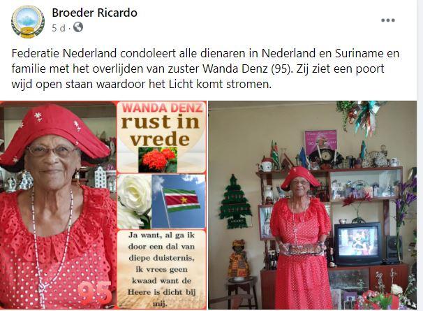 Wanda Denz Suriname