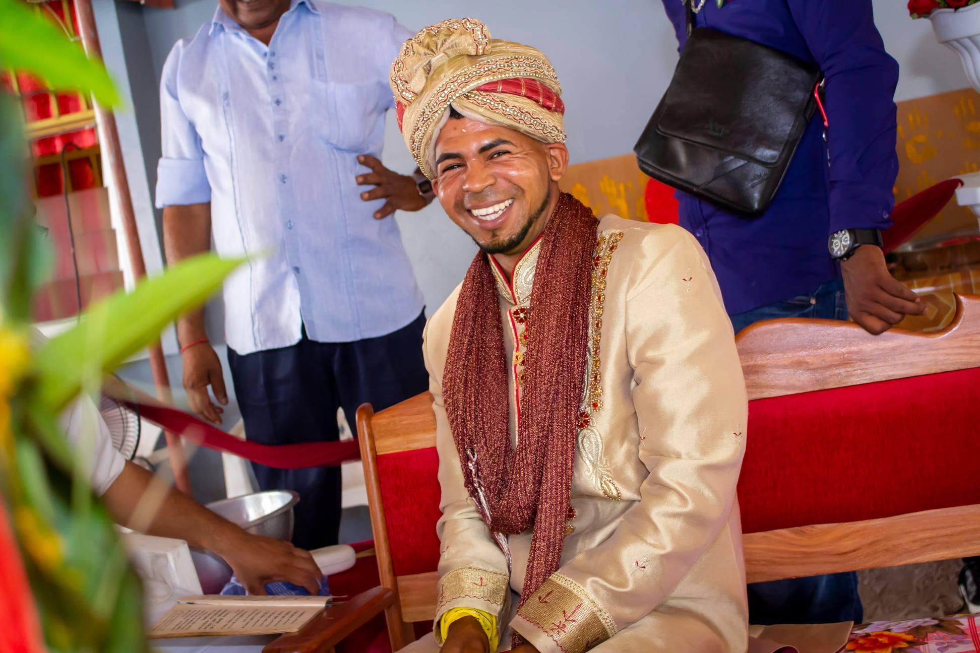 Trouwen in Suriname Paramaribo Manshika Rofenzo