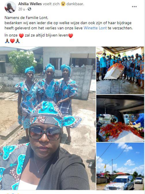 juf Winette lont Paramaribo Suriname school