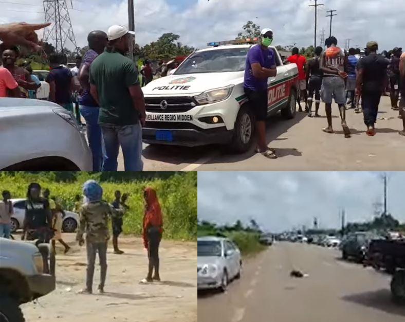 politie Suriname Paramaram