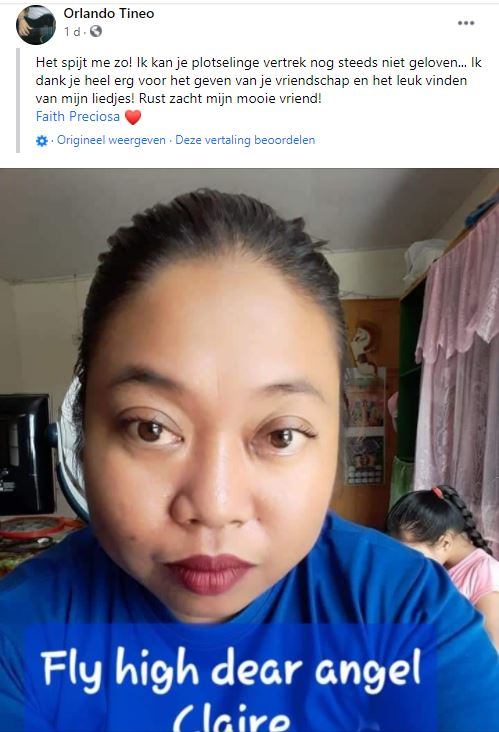 Claire kertodjodjo Suriname Paramaribo