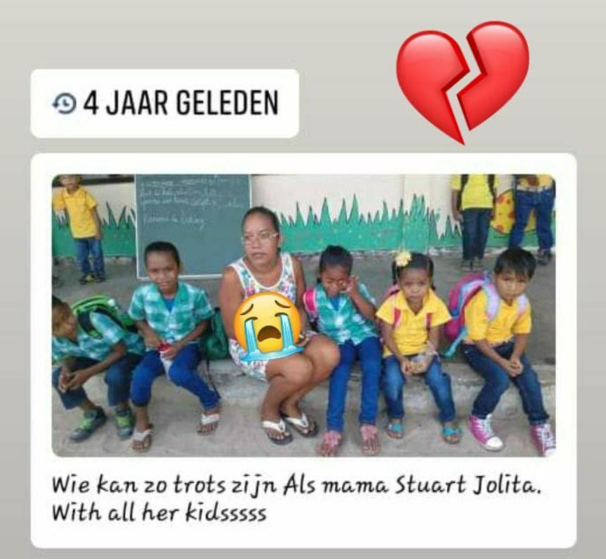 Jolita Stuart Suriname kinderen