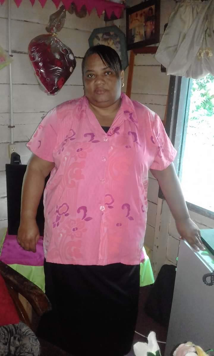 Simone fullington Potai moeder mama Suriname Paramaribo