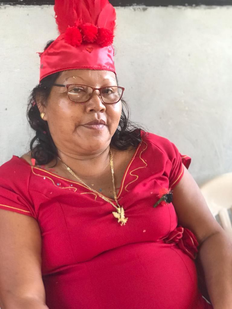Suriname Paramaribo Diana Brunswijk-Colom vr