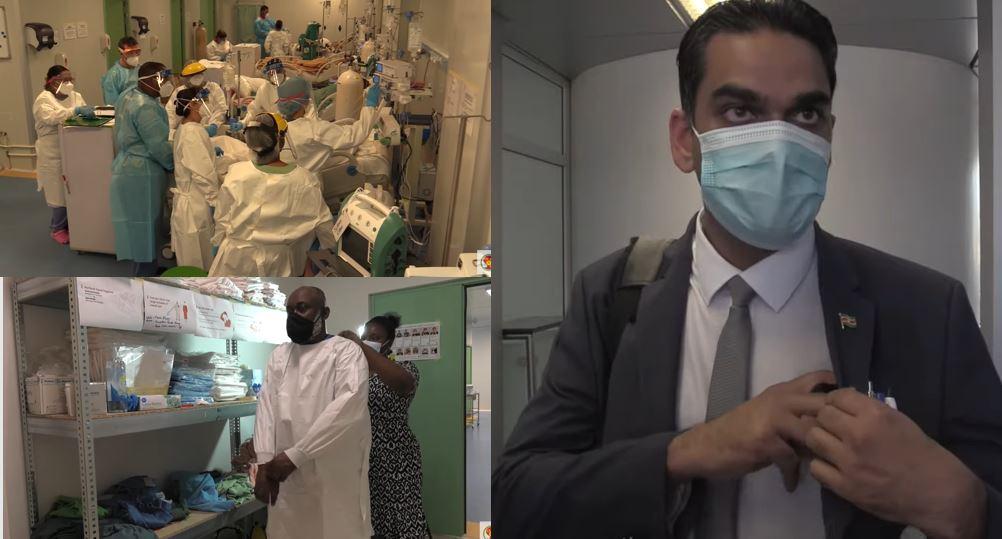 Suriname toestand Paramaribo ziekenhuizen