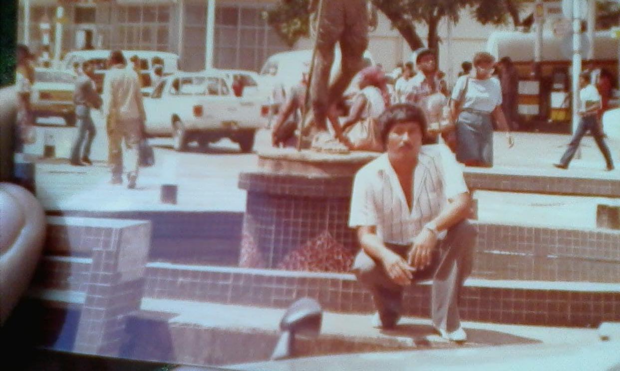 Verjaardag hemel Eugene Russel Suriname 1
