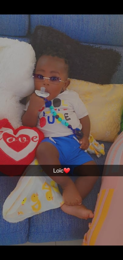 baby moeder La vie Paramaribo Suriname Djale Loïc