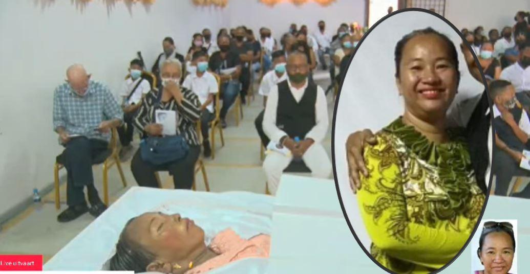 geliefde Monika Kramasemita-Djamin in Paramaribo cover