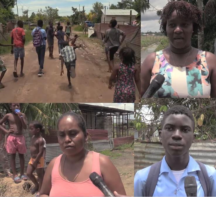 kinderen Suriname familie stroom jongetje