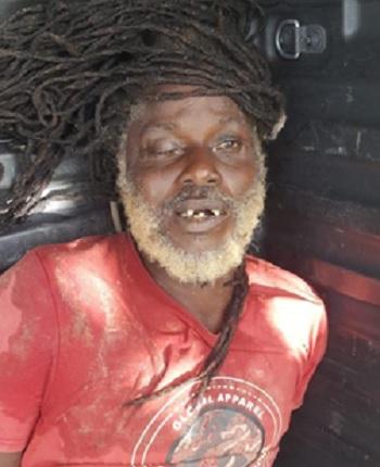 Opzoek: Nabestaanden van deze dode rasta man! Politie Suriname