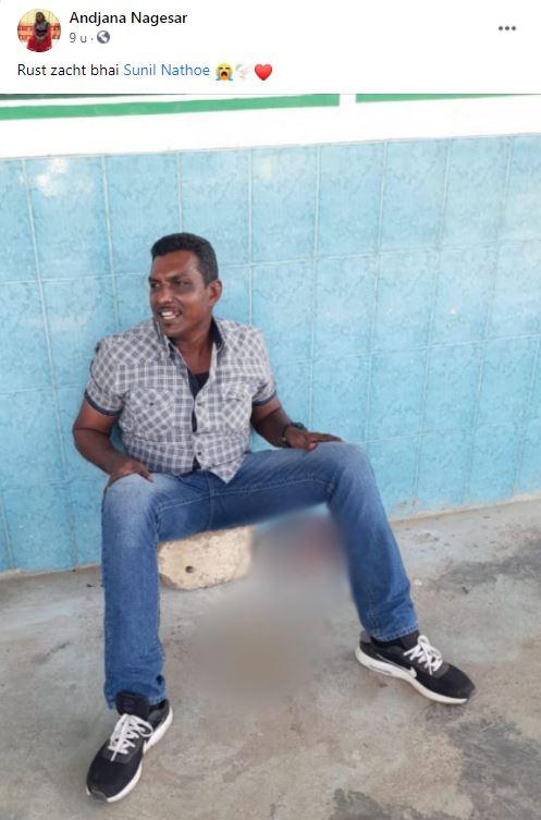 politie Sunil Nathoe Suriname